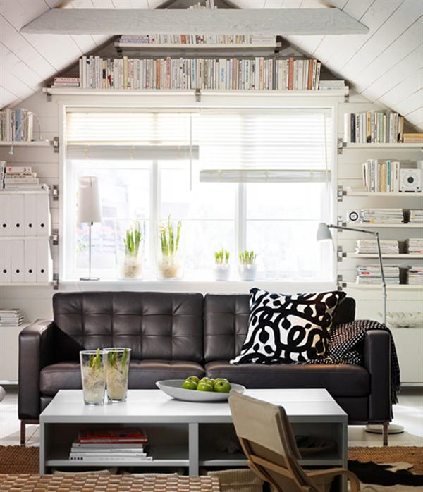 2011 New Ikea Living Room Design and Decorating Ideas