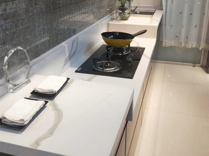 solid surface artificial quartz stone countertops