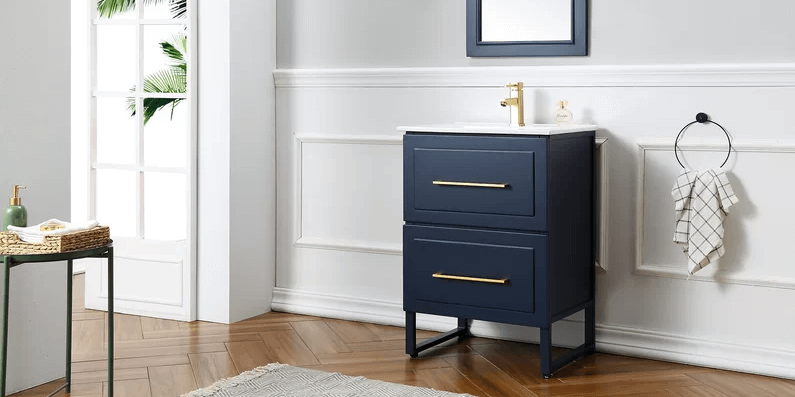 Are free-standing vanities better than wall hung vanities?